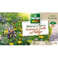 Jardinage LE PAYSAN Mélange de fleurs protectrices du Jardin et potager Aucune