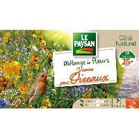 Jardinage LE PAYSAN Mélange de fleurs vivaces pour oiseaux - 19 variétés Aucune