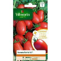 Jardinage VILMORIN Tomate Roma V.F Sachet de graines - Echantillon tomate Surya - Algoflash Naturasol