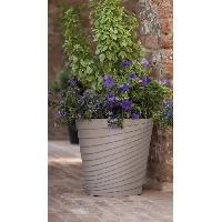 Jardiniere - Pot De Fleur - Cache-pot FDEROMA Pot Slinky - 25x25x25 cm - 8.7L - Ecume