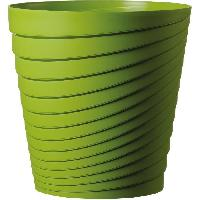 Jardiniere - Pot De Fleur - Cache-pot FDEROMA Pot Slinky - 25x25x25 cm - 8.7L - Vert