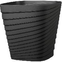 Jardiniere - Pot De Fleur - Cache-pot FDEROMA Pot Slinky - 30x30x30 cm - 17.6L - Anthracite