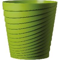 Jardiniere - Pot De Fleur - Cache-pot FDEROMA Pot Slinky - 35x35x35 cm - 25.3L - Vert