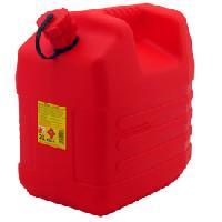 Jerrican Eau Jerrican plastique rouge Norme UN 20L - ADNAuto