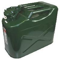 Jerrican Pour Liquide Auto-moto AUTOBEST Jerrican Metal Type US 10 L