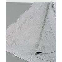 Jetee De Lit - Boutis - Couvre-lit Courtepointe coton Byzance - 150x150cm - Perle
