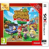 Jeu 3ds Animal Crossing New Leaf Welcome Amiibo 3DS Jeu Nintendo Selects