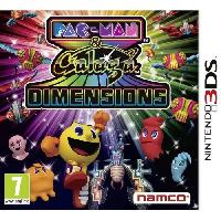 Jeu 3ds Pac-Man & Galaga Dimensions Jeu 3DS - Just For Games