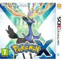 Jeu 3ds Pokémon X Jeu 3DS - Nintendo
