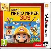 Jeu 3ds Super Mario Maker 3DS Jeu Nintendo Selects