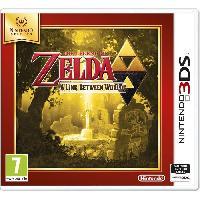 Jeu 3ds The Legend Of Zelda: A Link Between Worlds Jeu Select 3DS - Nintendo