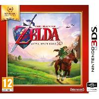 Jeu 3ds The Legend of Zelda Ocarina of Time Select Jeu 3DS - Nintendo