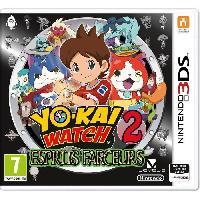 Jeu 3ds Yo-Kai Watch 2 : Esprits Farceurs Jeu 3DS - Nintendo