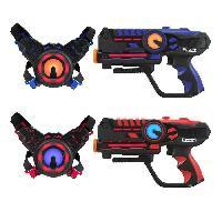 Jeu D'adresse DARPEJE Laser Battle - Set 2 joueurs equipe bleurouge - ODAR77