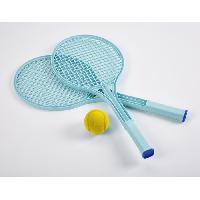 Jeu D'adresse ECOIFFIER Tennis play - 2 Raquettes + Balle en mousse