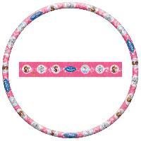 Jeu D'adresse LA REINE DES NEIGES - Disney - Cerceau Hula Hoop - Diametre 80 cm - Rose et Bleu - Jeux-Jouets extérieurs - Generique