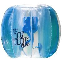 Jeu D'adresse WICKED - Body Bubble Ball - Bleu - Bubble gonflable ballon football -  - Bubble soccer