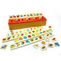 Jeu D'apprentissage Boite de Tri Systeme Montessori