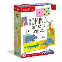 Jeu D'apprentissage CLEMENTONI Petit Savant - Domino Chiffres et Animaux - 4 ans et +