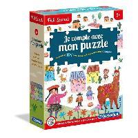 Jeu D'apprentissage CLEMENTONI Petit Savant - Je compte avec mon puzzle - 5 ans et +