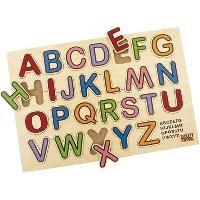 Jeu D'apprentissage Jeu d'encastrement ABC puzzle couleur - Mixte - Livre a l'unite