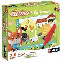 Jeu D'apprentissage NATHAN Petit Electro - A la Ferme