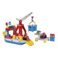 Jeu D'assemblage - De Construction - Manipulation ABRICK Ferry Boat - Ecoiffier