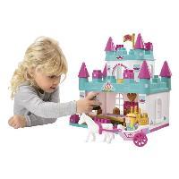 Jeu D'assemblage - De Construction - Manipulation ABRICK le Chateau de Princesse - Ecoiffier