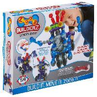 Jeu D'assemblage - De Construction - Manipulation ALEX Le robot - 55 pieces de ZOOB - A partir de 6 ans