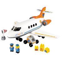 Jeu D'assemblage - De Construction - Manipulation Avion Happy Jet - Abrick