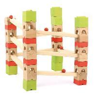 Jeu D'assemblage - De Construction - Manipulation JEUJURA Circuit De Billes - 67 Pieces