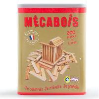 Jeu D'assemblage - De Construction - Manipulation Mecabois - Boite 200 pieces