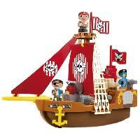 Jeu D'assemblage - Jeu De Construction - Jeu De Manipulation ABRICK Bateau pirate - Ecoiffier