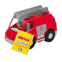Jeu D'assemblage - Jeu De Construction - Jeu De Manipulation ABRICK Camion de Pompier - Ecoiffier