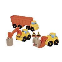 Jeu D'assemblage - Jeu De Construction - Jeu De Manipulation ABRICK Camion remorque Fast truck TP - Ecoiffier