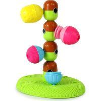 Jeu D'assemblage - Jeu De Construction - Jeu De Manipulation LALABOOM Boîte ouverte de jeux d'empilement perles éducatives - 6 pieces - Aucune