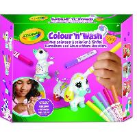 Jeu De Coloriage - Dessin - Pochoir CRAYOLA Color'N'Wash pets - Mes Animaux a Colorier - Kit 2
