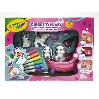 Jeu De Coloriage - Dessin - Pochoir Color'N'Wash pets - Mes Animaux a Colorier - Coffret