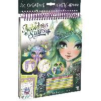 Jeu De Coloriage - Dessin - Pochoir NEBULOUS STARS - Marinia Creative Sketchbook