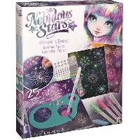Jeu De Coloriage - Dessin - Pochoir NEBULOUS STARS - Spiro Etoiles