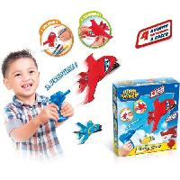 Jeu De Coloriage - Dessin - Pochoir SUPER WINGS Avion et Lanceur - Canal Toys