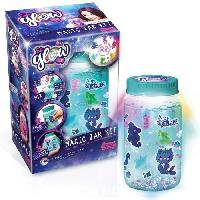 Jeu De Creation Bougie CANAL TOYS - SO GLOW DIY -  Grande Magic Jar Kit - Crée ta Magic Jar Lumineuse !