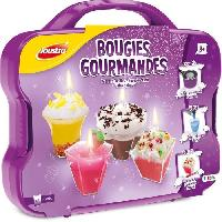 Jeu De Creation Bougie JOUSTRA - Mallette Bougies Gourmandes