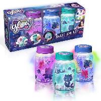 Jeu De Creation Bougie SO GLOW - Magic Jar - Cree 3 Magic Jars Lumineuses !