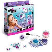 Jeu De Creation De Bijoux CANAL TOYS - STYLE 4 EVER - Body Glitter Art Kit- Applique tes Bijoux & tes Paillettes !