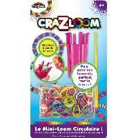 Jeu De Creation De Bijoux Kit De Loisirs Creatifs - Mini-loom 6 Points De Croix