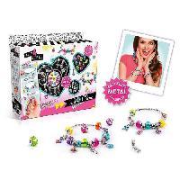 Jeu De Creation De Bijoux ONLY 4 GIRLS - Kit bracelet Pend'Charms - 10 Charms et 20 perles