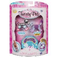 Jeu De Creation De Bijoux TWISTY PETZ - Pack De 3 Twisty Petz - Modele aleatoire