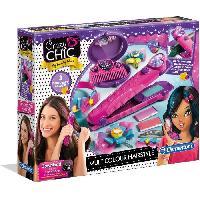 Jeu De Creation Maquillage CLEMENTONI Crazy Chic - Cheveux multicolores