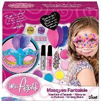 Jeu De Creation Maquillage Miss Pepis - Masques Fantaisie